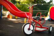 Pre-school room tricycle